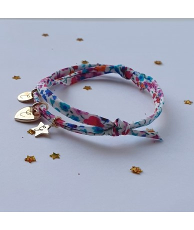 Initials Spring liberty personalised bracelet by Anne L Or London  in Wimbledon