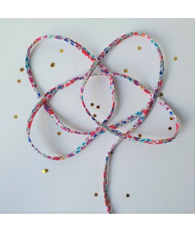 Spring Liberty braid for personalised and handmade jewellery by Anne L Or London Wimbledon