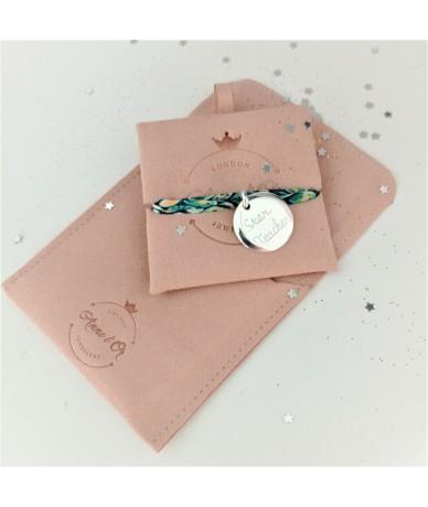 Anne L Or London Packaging Pink Velvet gift box
