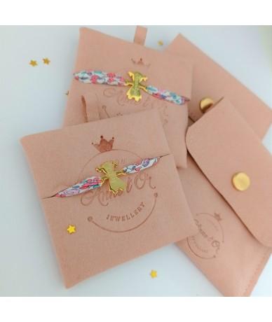 Little people bracelet packaging handmade and personalised jewellery by Annelor London